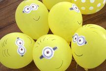 Micke's Minion Madness / Minion party ideas
