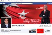 Ceyhun Yağlıcıoğlu / Bakırköy CHP Belediye Başkan Aday Adayı Sosyal Medya Yönetimi