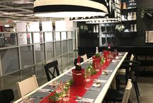 """""""IKEA Holiday"""" Pop Up Dinner Party / Pop Up Dinner Party by The Revelry Co"""