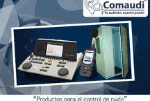 Productos / Productos que Comaudi trae para un mejor control acústico