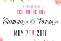 National Scrapbook Day / Here's where it is happening! National Scrapbook Day is May 7th and we have a full day planned for you! This is the board for you to get all the news!