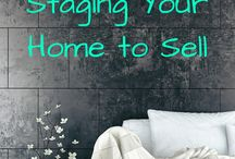 Home Staging Ideas / Get inspiration for an upcoming house staging, see before and afters, and find home staging tips you can use whether you do it yourself on a budget or hire a pro.