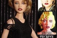Reroot doll / Bambole