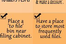 Organizing Paper for Business / Decluttering papers, Organizing papers, Paper Management, Organizing Paperwork for Small Business, entrepreneur, solopreneur, mompreneur