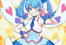 Yusaku & Aoi *playmaker and Blue angel*Yu-Gi-Oh Vrains