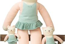 Knit Toys / Knit stuffed dolls