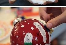 Painted ornaments kids