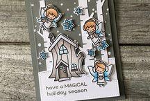 Lawn Fawn Frosty fairy friends