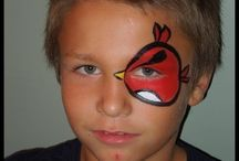 face painting / by Kaley Cram