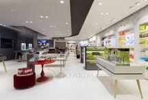 Kozmetik Mağaza Dekorasyonu