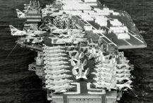 CVA- 59 Forrestal Class Aircraft Carrier and follow up CVA-63  Class
