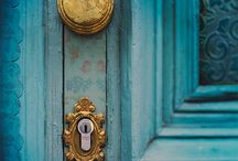 doors.  / Pinterest has helped me discover that I have a weird obsession with doors...  / by Mackenzie