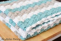 Crochet Instructions Shell Stitch / Crochet instructions for the shell stitch are easy to make with the right pictures. Patterns for blankets, scarves, hats, crochet for baby, etc. Crochet around the edge or throughout the entire work. The look still works.  / by Strawberry Couture Etsy Unique Crochet and Knit Hats Scarves Patterns