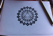 Mandalas done by me. / Here's all designs that i have done all by myself