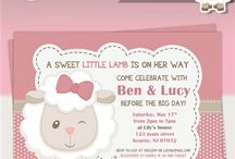 Cute Lamb Baby Shower Ideas