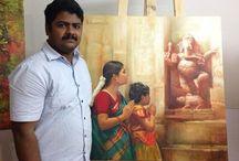 S. Elayaraja y otros artistas de India