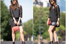 Black outfit, summer look