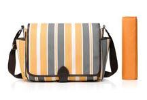 Cross-Body Changing Bags / Cross-Body changing bags have plenty of storage! The large heavy-duty straps help to distribute the weight for maximum comfort making this the perfect companion for days out.  These are perfect for keeping all your essentials organised whilst keeping your hands free! These are also perfect for dads. With many pockets and compartments and even comes with a thermal pocket to keep your bottles warm! Our bags are stylish, lightweight, durable, water resistant and comes with matching accessories.