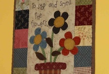 hanging wall patchwork
