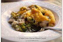1 - Recipes - Casseroles / by Lynn Siebenthaler
