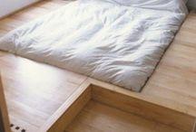 podium sunken bed