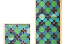 Beauty of Recycled Glass / We love recycled glass not only for it's beauty for also for it's utility!