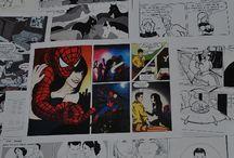 Ritratti, Illustrazioni e Fumetti