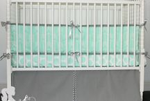 Mint Nursery / Mint crib bedding, Mint nursery décor, Custom Mint crib sheets, Mint crib bumpers, Mint crib skirts, Mint changing pad cover, Mint crib rail covers, Mint nursery pillows