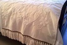 cubre cama mantas