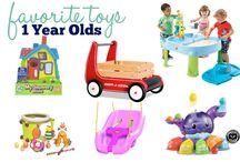 Mia's 1 year toys
