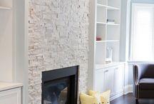 Grey stone tiles