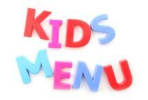 menù bambini