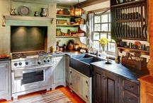 Home kitchen and dining room / by Brigette