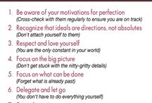 Therapy ideas: Perfectionism