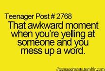 umm, awkward! / by Veronica Castro