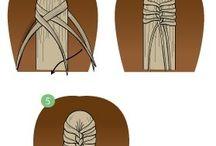 horse hair stile