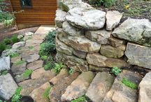 Boulders / A boulder can be a great addition to your landscaping, lining a flower bed or water feature.