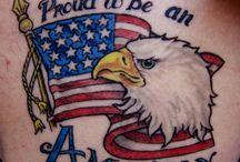Military Pride Tattoos