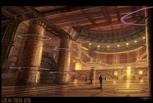Throne Room- Futuristic