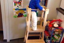 Lernturm nach Montessori