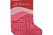 Home for the Holidays / Home and kitchen decor for the holidays. Some customized with family name or monogram.