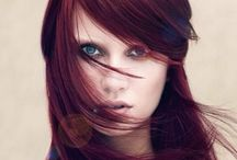 Cool Reds / Cool Red= Ruby, burgundy, eggplant, that look beautiful on cool skin tones.