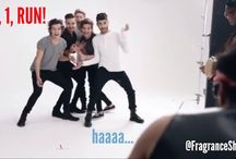 13 Hilarious Moments from One Direction's 'That Moment' Fragrance Video / By now you must have seen the hilarious new parody trailer for the latest One Direction fragrance 'That Moment'.  Not only were we in stitches watching the video, but we also think it showed great a sense of humour as the boys played along to everything from pretending to be sprouting flowers right through to letting the Director call the fragrance ZAT Moment.    As such here are our 13 favourite moments from the video!