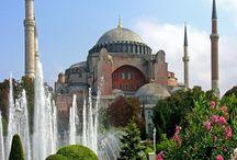 Стамбул -Исторический центр города. Пешеходная