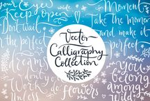 lettering and art
