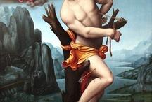São Sebastião / Saint Sebastian / Representação artísticas de São Sebastião.