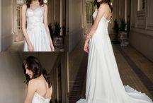 Vestidos de Novia Minimal · Minimal Wedding Dresses / Vestidos de novia elegantes, sobrios y sencillos.