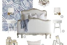 Newtrals / Soft pinks, peaches, grays, whites and blues that act as a new school of neutrals for home or self.