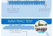 Infographics / Some of our infographics paired with some fun ones we've seen that will best help YOU with tenting, tables, chairs, linens and all of the crazy rentals.