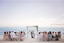 WEDDINGS AT LUXURY CAYMAN VILLAS / A collection of photos from our guests' weddings at Luxury Cayman Villas.  Caribbean beach wedding venues for intimate affairs.